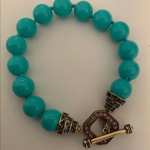 Heidi Daus Turquoise Bracelet